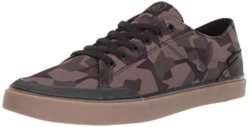 Volcom Chaussures de Skate en Daim vulcanisé pour Homme - - Camouflage, 38 EU