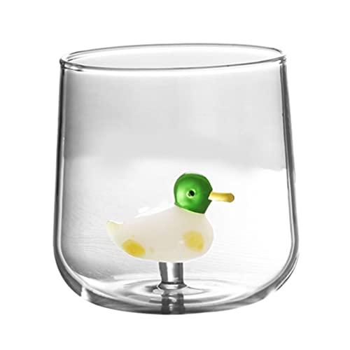 SOLUSTRE Vasos de Beber Transparentes Vasos de Vaso Vasos de Agua Lindos Vasos de Jugo para Camping Restaurante Fiesta de Playa
