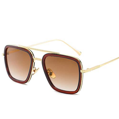 enioysun Gafas De Sol Aviador Gafas de solV de Gafas de Sol Gafas de Sol Retro Gafas de Sol (Lenses Color : C9)