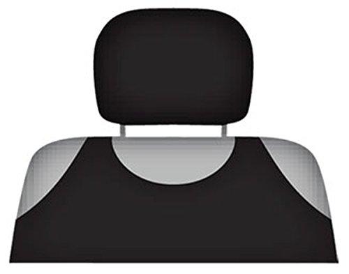 ZentimeX Z714193 Kopfstützenbezüge Baumwolle schwarz
