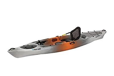 59293 Third Coast Avalon 120 Sit On Angler Kayak (Orange/Gray/White) from KL Industries
