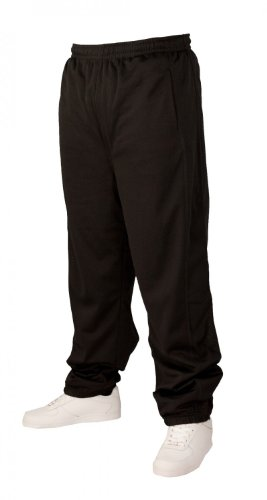 Urban Classics Mesh Long Pantalon de Sport Black,