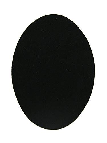 6 kinderpatch, bevestigd met een strijkijzer. Elleboogbeschermers ter bescherming van je kleding en voor de reparatie van broeken, jassen, truien en overhemden. 10,5 x 8 cm. Ref. 1 zwart.