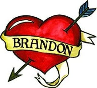 Brandon Temporaray Tattoo