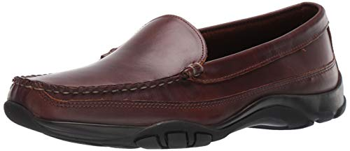 Allen Edmonds Men's Boulder Driving Style Loafer, Brown, 9.5 Wide US