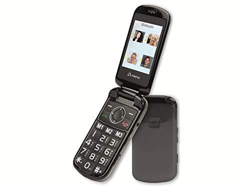 Olympia Großtasten Mobiltelefon Brava Plus inkl. Ladestation (Klapp-Handy)