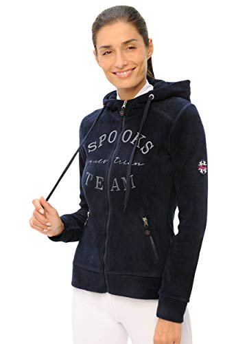 SPOOKS Marlena Fleece Jacket (Farbe: Navy; Größe: S)