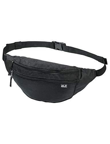 Jack Wolfskin Unisex– Erwachsene Pac Me Hüfttasche, Black, One Size