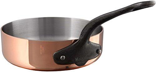 Mauviel M'Heritage M250C 2.5mm Copper Saute Pan, 5.2 quart,