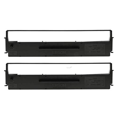 Epson C13S015613 LQ300 Farbband-2 twin pack, schwarz/nylon