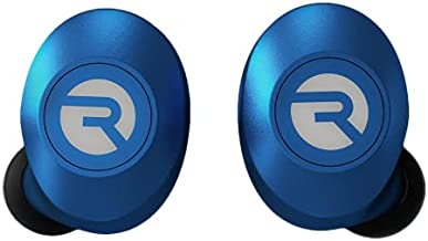 The Everyday Raycon Bluetooth Wireless Earbuds with Microphone- Stereo Sound in-Ear Bluetooth Headset E25 True Wireless Earbuds 24 Hours Playtime (Matte Blue)