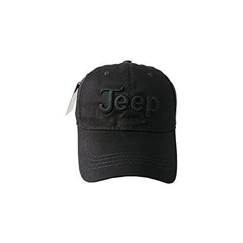 5d7e1439ff4 Jeep Embroidered Logo Solid Color Adjustable Low Profile Baseball Caps  Fitted Hats for Men and Women