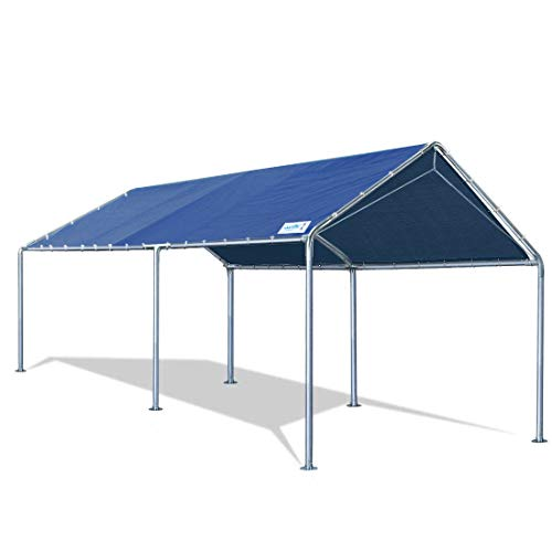 Quictent 10X20'ft Upgraded Heavy Duty Carport Car Canopy Party Tent with Reinforced Steel...