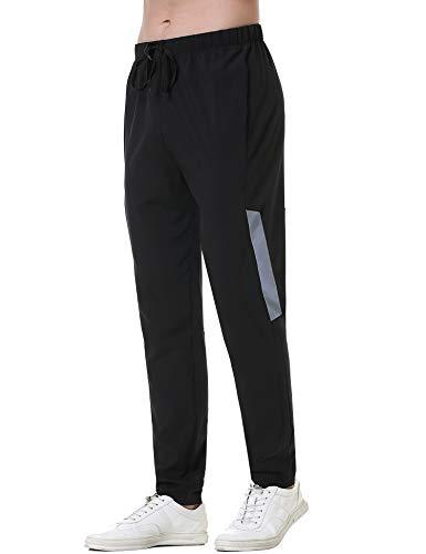 Irevial Herren Sporthose Jogginghose Lang Sporthose Schnelltrocknend Trainingshose für Sport Fitness Lässig Freizeithose