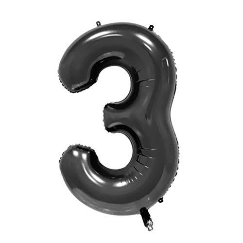 JSJJAER Globos de cumpleaños 1 Juego de Chicas Moto Ballons Blanco Negro Racing Flag Coches Foil Balloon Motocicleta cumpleaños del Tema de la decoración del Partido Incrementa la atmósfera
