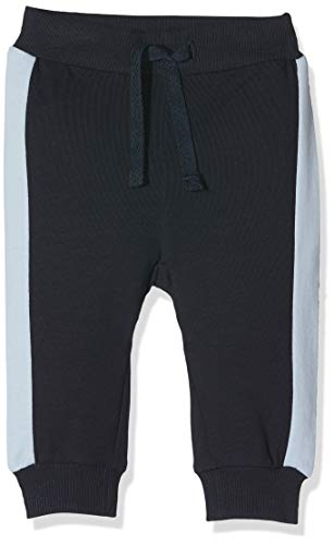 NAME IT Baby-Jungen Jogginghose NBMDECON Light SWE Pant Unb, Mehrfarbig (Dark Sapphire), (Herstellergröße: 80)