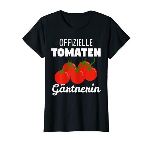 Damen Tomaten Gewächshaus Tomaten-Pflanzen Strauchtomaten Geschenk T-Shirt