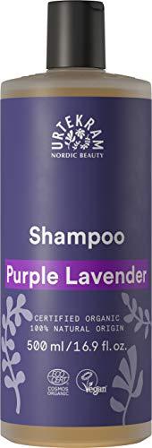 Urtekram Purple Lavender Shampoo Bio, Glanz und Balance, 500 ml