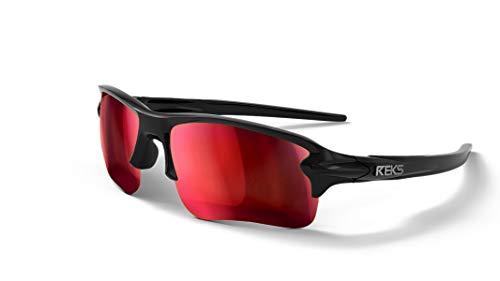 REKS Polarized Sling blade Sunglasses - Unbreakable frame