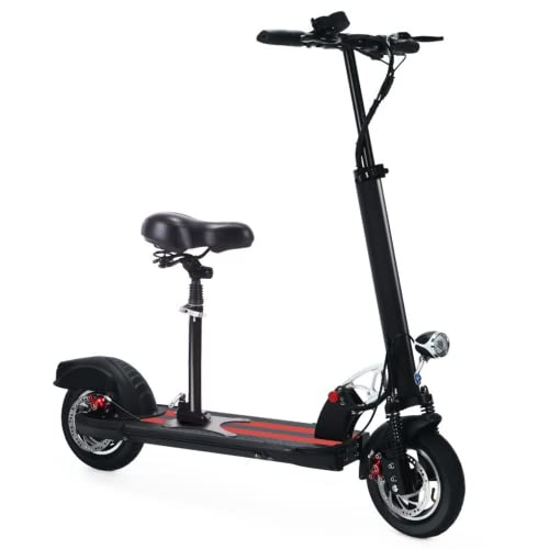 10-inch Electric Scooter Adults, 400 watts of Motor Power Electric scooterr, Battery...