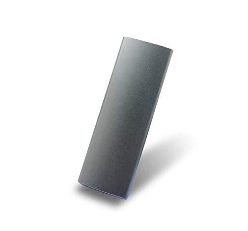 Disco duro externo de 2 TB, disco duro portátil externo para PC, portátil y Mac (2 TB, plateado)