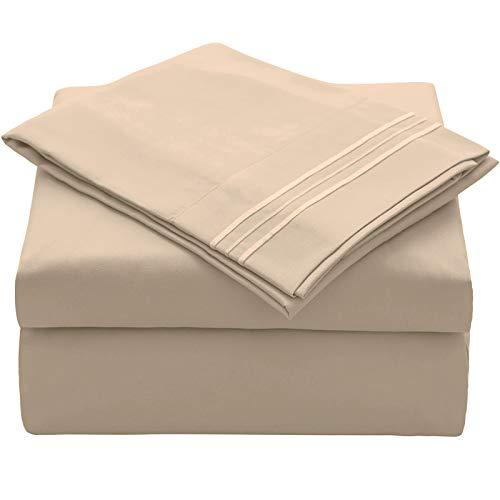 Juego de ropa de cama de Veeyoo, antiarrugas, hipoalergénico, suave, 3piezas, color blanco, poliéster, Morado, UK King