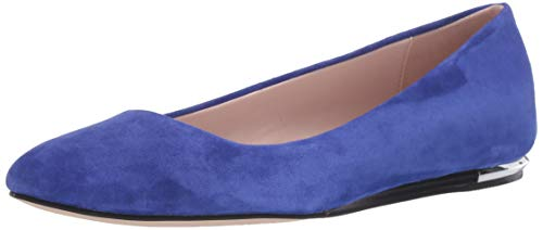 Calvin Klein Women's Kosi Ballet Flat, Blue, 6.5