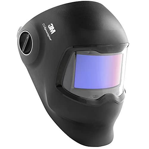 3M Speedglas Welding Helmet G5-02, Auto Darkening Welding Helmet Meets ISO 16321 TIG+ Standards, Light State 2.5, Curved Wide View ADF, Bluetooth Enabled, 4 Arc Sensors, Includes Welding Helmet Bag