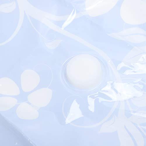 WMKD Bolsa de Almacenamiento al vacío para edredón, Bolsa comprimida al vacío de 2 Piezas con Cierre Doble para Ropa para Mantas para Almohadas para Ropa de Cama(60 * 80CM)