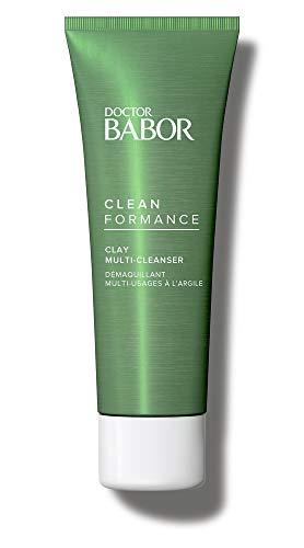 DOCTOR BABOR CLEANFORMANCE Clay Multi-Cleanser, Reinigung und Maske in einem, porentiefe Reinigung, gegen Unreinheiten, 1 x 50 ml