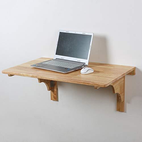 YNAYG Wand-Klapptisch Massivholz Wandklapptisch, Computertisch/schwimmender Tisch Esstisch/schwimmender Schreibtisch/Werkbank in der Garage/Nähtisch, platzsparender Hängetisch