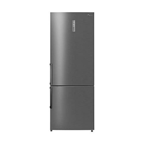 Midea KG 7.2 XXL Kühl-gefrierkombination/A++ / 188cm/ 276 kWh/Jahr / 316 L Kühlteil/100 L Gefrierteil/No Frost/Metal Cooling