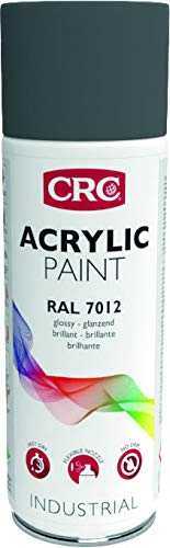 CRC 33272-AA - ACRYLIC PAINT. Pintura acrílica alto brico. Secado rápido. RAL 7012 gris basalto 400 ml