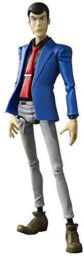 Bandai- S.H. Figuarts Lupin The Third Figurine, 4549660040910, 15cm