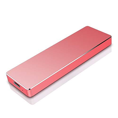 Hattahh Disco Duro Externo Portátil 2TB, Type C USB3.1 Disco...