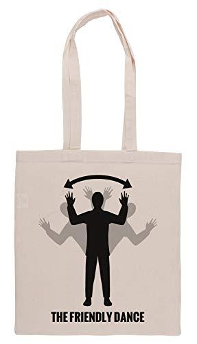 Luxogo Bitte Dont Schießen Mir, Ich Bin Freundlich! Einkaufstasche Groceries Beige Shopping Bag