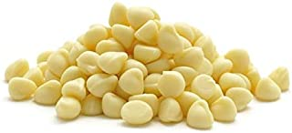 5 LB Guittard 900 Count White Cookie Drops | White Compound Chocolate Chips | Resealable Stand Up Pouch