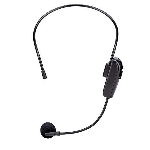 Varadyle MicróFono con Auriculares FM MicróFono InaláMbrico Profesional Amplificador de Voz de MicróFono para la EnseeAnza del Habla
