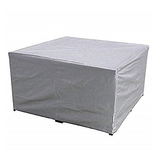 Fundas Impermeables para Muebles De Patio 230X165X80Cm Funda De Mesa para Sofá De Jardín Al Aire Libre Funda Protectora Rectangular Duradera 210D Funda Protectora Resistente A Los Rayos UV A Prueba