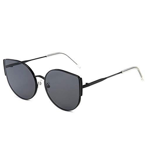 Gafas de sol Hombres Mujeres Ocean Film Cat Eye Big Frame Fashion Creative Wild Goggles Block UV