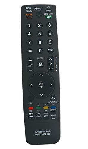 ALLIMITY AKB-69680403 Mando a Distancia Reemplazar Apto para LG TV 47LV550T 47LV570G 47LY95 47LY95AEU 49UF6807 49UF6809...