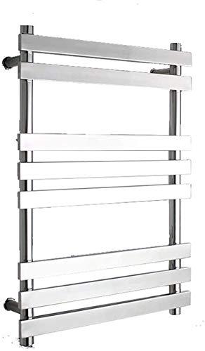 Calentadores de toallas eléctricos para toallas calientes, acero inoxidable 304 Auatic temperatura constante impermeable a prueba de humedad deshumidificación tendedero para niños adecuado para baño