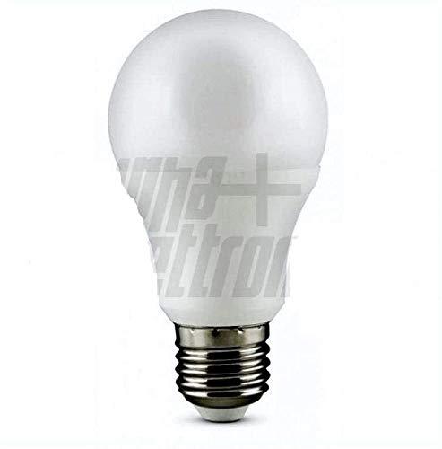 Jolight - Bombilla LED tipo gota - 12V - Casquillo E27-10W de potencia - Luz natural - Temperatura de color 4000 K - 840 lúmenes - Color blanco