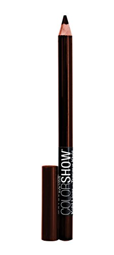 Maybelline NY - Lápiz Perfilador de Ojos Marrón Color Show, Tono 410 Chocolate Chip