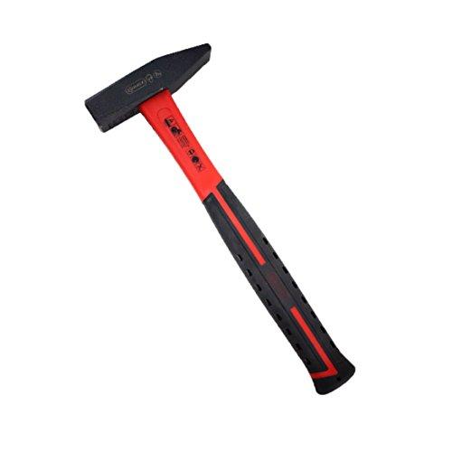 Connex Schlosserhammer 200 g, Glasfaserstiel / Hammer / Ingenieurhammer / Stahlhammer / Werkzeug / COX603200