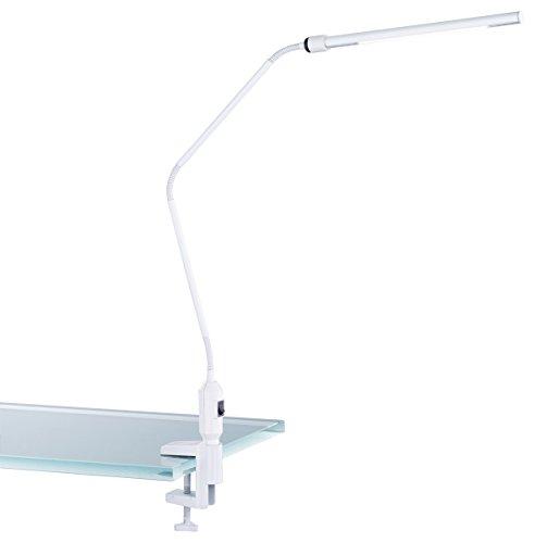 TRIO, Lampe à fixer, Vario incl. 1 x LED,SMD,3,6 Watt,3000K,200 Lm. Corps: metal, Blanc L:3,5cm, H:64,5cm, P:50,0cm IP20,Interrupteur