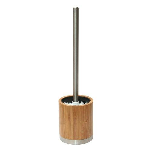 axentia Bonja WC-Granitur, Bambus, Braun