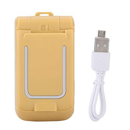 Flip klaptelefoon voor studenten - Toetsenbordtelefoon van hoge kwaliteit - Mini multifunctionele mobiele telefoon (radio, Bluetooth, SOS met één knop, wekker, kalender) - 300 mA batterijcapaciteit - voor kinderen