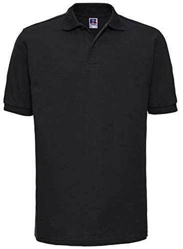 Russels Workwear - Polo - - Polo - Col polo - Manches courtes Homme - Noir - Noir - Xx-large