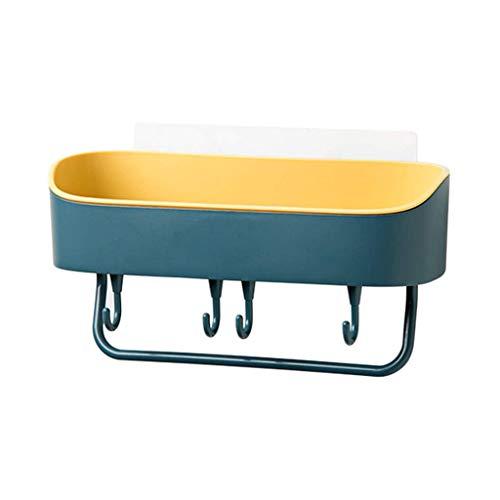 ZYING Multifuncional de Cocina Estante de la Pared montado en Rack de Almacenamiento en Rack de baño de Ducha de Esquina Estante de la Cocina decoración del hogar Baño Colgante (Color : C)